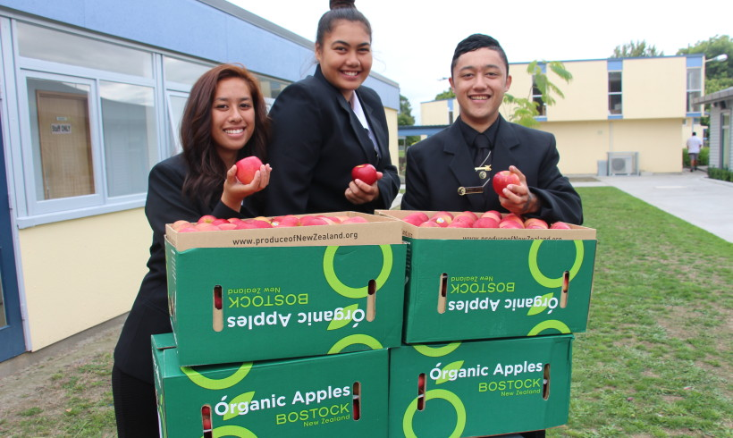 A New Initiative Gets Flaxmere Students Eating Healthy