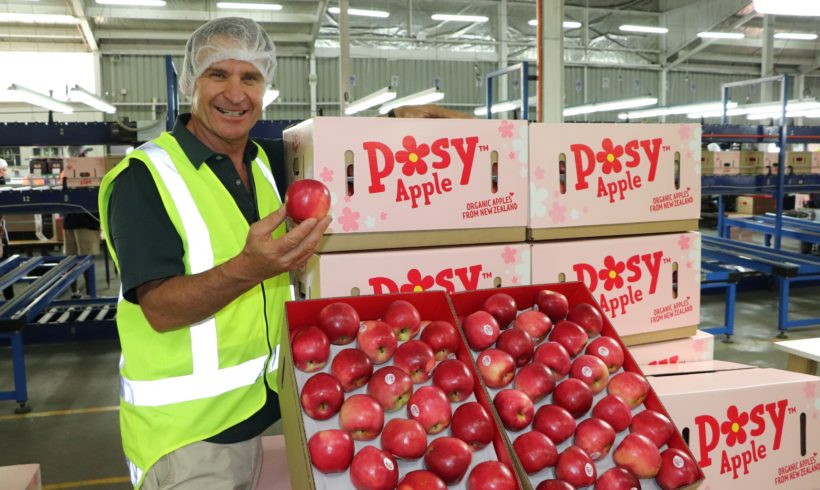 Coronavirus Creates Demand for New Zealand Organic Apples